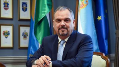 Zalai Mihály, a Békés Megyei Önkormányzat Közgyűlésének elnöke. Forrás: BMÖ