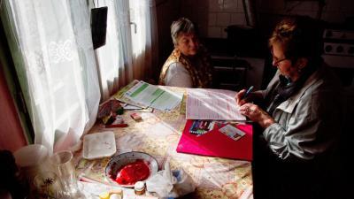 Népszámlálás. Archív MTI Fotó/Egyed Zoltán