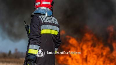 A kép illusztráció. Fotó: Szőke Péter BM OKF
