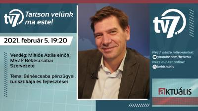 Aktuális - Miklós Attila. Fotó: behir.hu