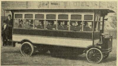 Edison akkumulátoros automobilja 1911-ből (Vasárnapi Újság)