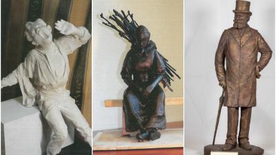 Három, a Munkácsy-negyedben helyet kapó szoborról döntött Békéscsaba polgármestere. Fotó: Szarvas Péter Facebook oldala; behir.hu
