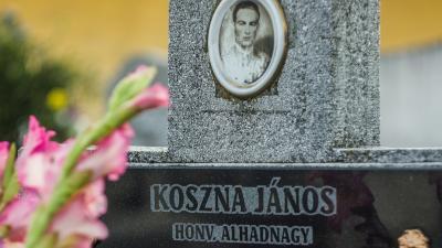 Koszna János sírja (fotó: Nagy Baksa)