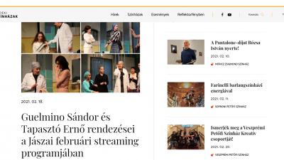 Együtt, új honlapon és közösségi oldalon jelennek meg a vidéki színházak. Forrás: videkiszinhazak.hu