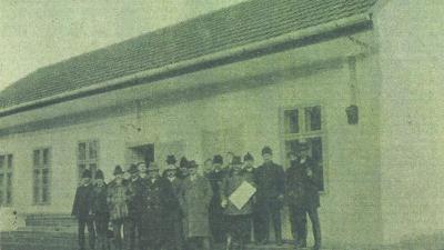 A Népegylet új otthona, a belvárosi Lenkey utcában, 1927-ben