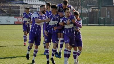 Kovács Ádám gyors gólja győzelmet ért – (Fotó: Such Tamás)