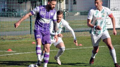 Paudits Patriknak (99) sem jött össze a gólszerzés, így nem sikerült a jó folytatás a Győr elleni sikert követően (Fotó: Such Tamás)