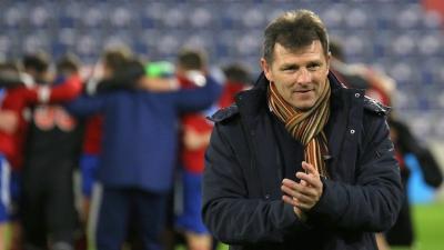 Schindler Szabolcs úton van eddigi legnagyobb edzői sikere felé - (Fotó: vasasfc.hu)