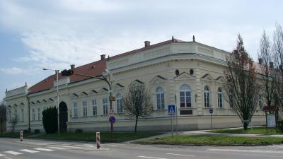 A gyomai városháza (Fotó: Határ Győző Városi Könyvtár)