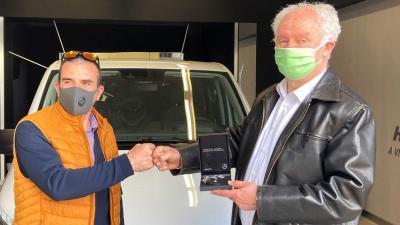 Ribárszki Péter (b.) és Herczeg Tamás (A kép forrása: Facebook/Herczeg Tamás)