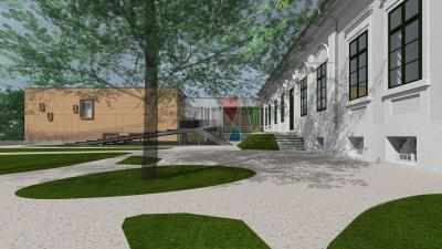 A Békéscsabai Napsugár Bábszínház új otthonának látványterve