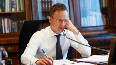 Szijjártó Péter külügyminiszter. (Forrás: koronavirus.gov.hu)