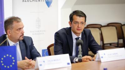 Zalai Mihály és Oláh Gábor - Fotó: Zentai Péter