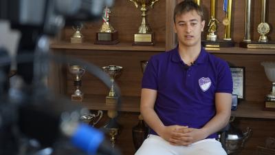 Kasik Ákos a 2020/21-es szezonban vált a kezdőcsapat tagjává – (Fotó: Bagi József/behir.hu)