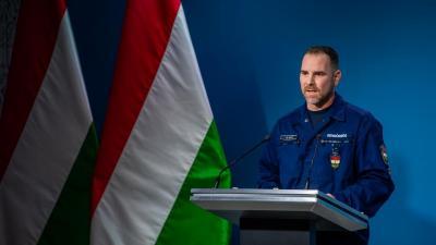 Gál Kristóf (fotó: koronavirus.gov.hu)