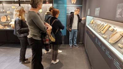 Tanulmányutat szerveztek a Békés megyei turisztikai szakembereknek a Munkácsy Mihály Múzeumba. Fotó: Békéscsabai Turisztikai Egyesület