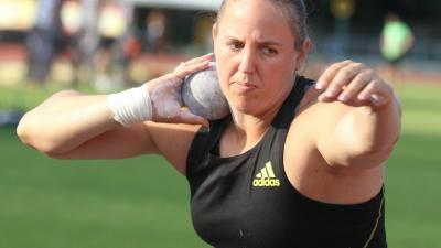 Márton Anita győzött súlylökésben (Fotó: Magyar Atlétikai Szövetség)