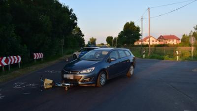 Az orosházi baleset (fotó: police.hu)