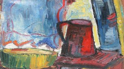 Dr. Árvai József festménye