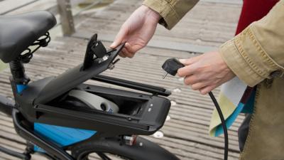 Elektromos bicikli (illusztráció) - getty images photo