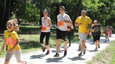 Pillanatkép a futóversenyről (A kép forrása: FB/Kálmán Tibor - HIvatalos)