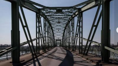 Komáromi híd (fotó: koronavirus.gov.hu)