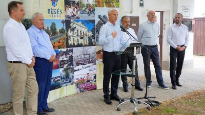 (b-j) Dankó Béla, Kovács József, Soltész Miklós, Zalai Mihály, Herczeg Tamás és Kálmán Tibor (Fotó: D. Nagy Bence/BMC)