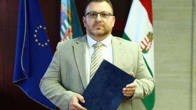 Dr. Sóvári Tibor főosztályvezető. Fotó: Békés Megyei Kormányhivatal