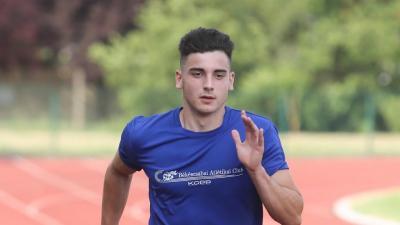 Nadj Levente (fotó: Békéscsabai Atlétikai Club)