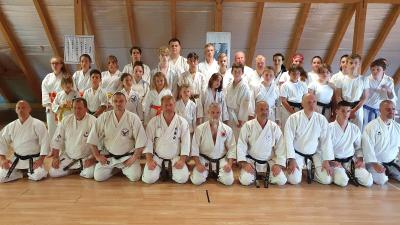 IKU karate képzés Balatonfenyvesen – Forrás: Gregor László