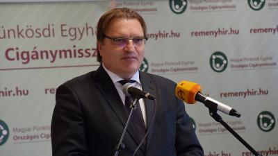 Durkó Albert, a Magyar Pünkösdi Egyház Országos Cigánymisszió vezetője – (Fotó: Such Tamás)