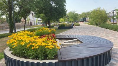 Békéscsaba is indult a Virágos Magyarország - legvirágosabb úti célok megmérettetésén. Forrás: Facebook/Virágos Magyarország