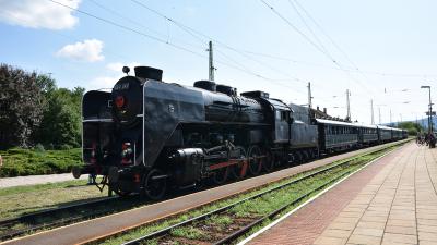 Gőzmeghajtású nosztalgiajárat közlekedik szeptemberben Békéscsabára és Szegedre. Forrás: MÁV