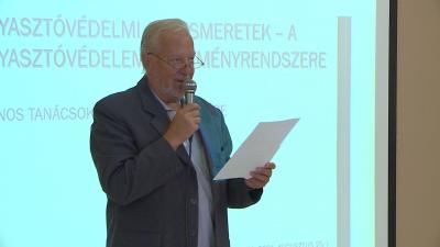 Gólya Pál, a Civil Szervezetek Szövetségének elnöke