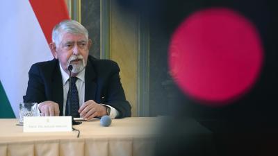 Kásler Miklós miniszter - Fotó: MTI