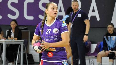 Kukely Anna kilenc góllal járult hozzá a sikerhez (Fotó: Such Tamás)