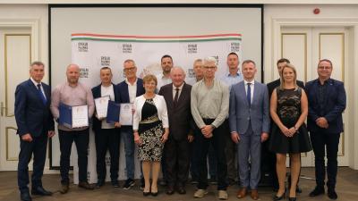 A Brillante 2021 díjazottjai (fotó: Gyulai Hírlap/ Rusznyák Csaba)
