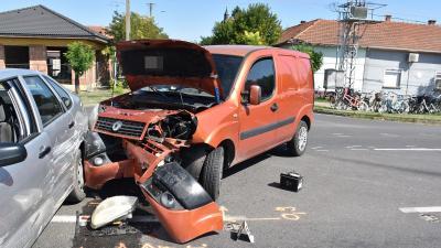 A gyulai baleset (fotó: police.hu)