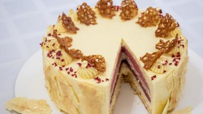 Békés tortája. Fotó: békési polgármesteri kabinet