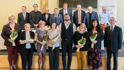 IPOSZ díjazottak – Fotó: Juhász Melinda