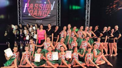 A Varga Adrienn Szabad Torna SE a dabasi Unity for Passion Dance Festen