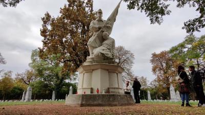 Hősi temető. Fotó: behir.hu/V.D.