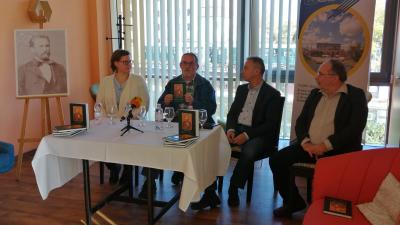 Szalay Ágnes (balról), Barabás Ferenc, Opauszki Zoltán és Szente Béla – (Fotó: Hidvégi Dávid/behir.hu)