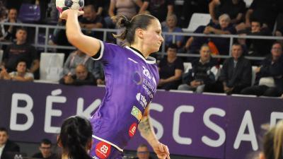 Gyimesi Kitti hét gólt szerzett (Fotó: Such Tamás)